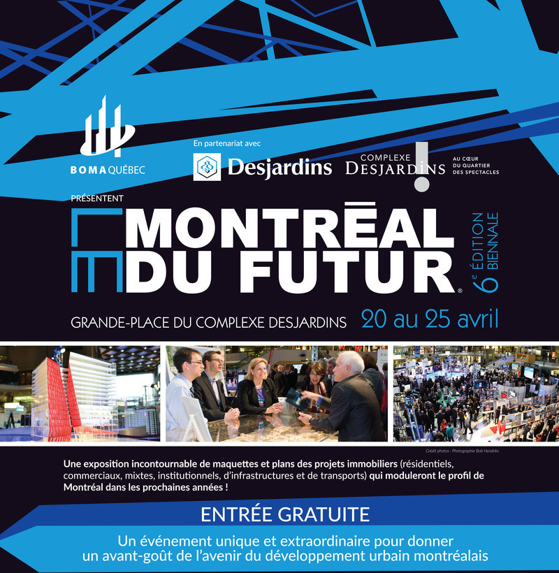 Newsroom | v2com-newswire | Newswire | Architecture | Design | Lifestyle - Press release - Le Montréal du futur® 2016 biennale exhibition - Le Montréal du futur