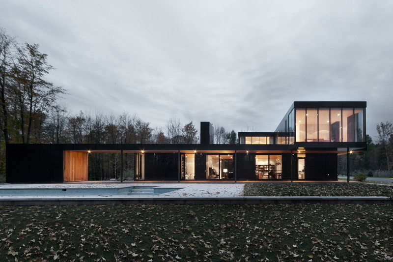 Newsroom | v2com-newswire | Newswire | Architecture | Design | Lifestyle - Press release - Rosenberry residence - Les architectes FABG