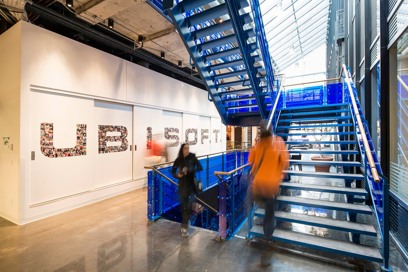 Newsroom | v2com-newswire | Newswire | Architecture | Design | Lifestyle - Press release - Four-Season Work and Play Areas at Ubisoft Quebec City - LumiGroup