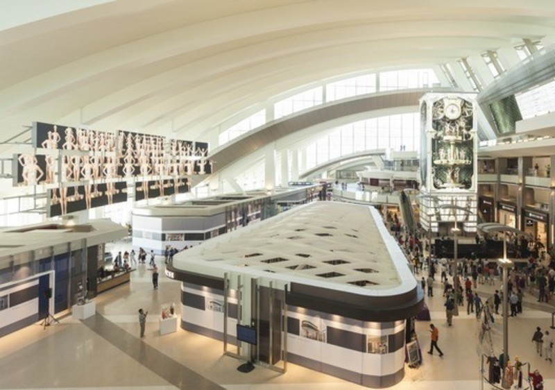 Press kit - Press release - Moment Factory collaborates in the transformation of Los Angeles International Airport - Moment Factory