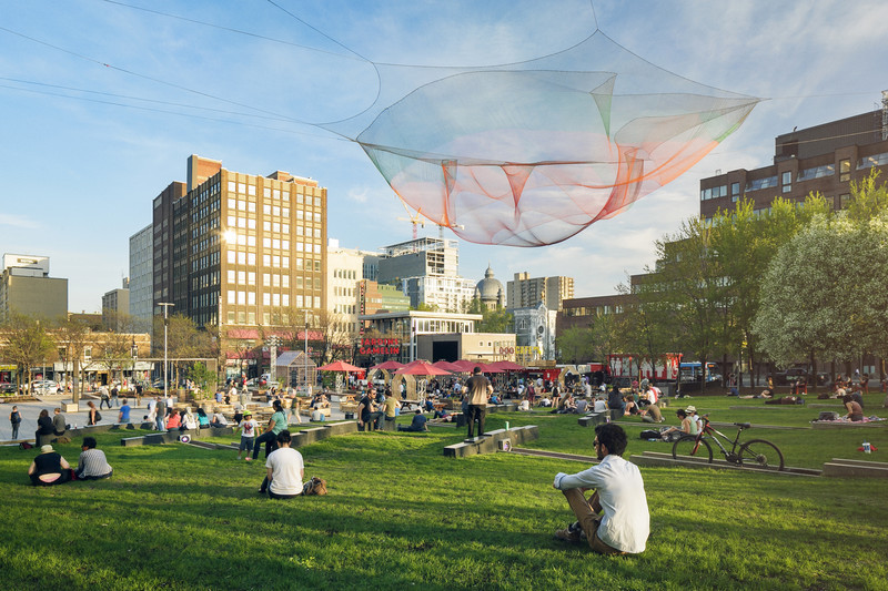 Newsroom | v2com-newswire | Newswire | Architecture | Design | Lifestyle - Press release - A Rich and Exciting Summer in the Quartier des Spectacles - Quartier des spectacles Partnership