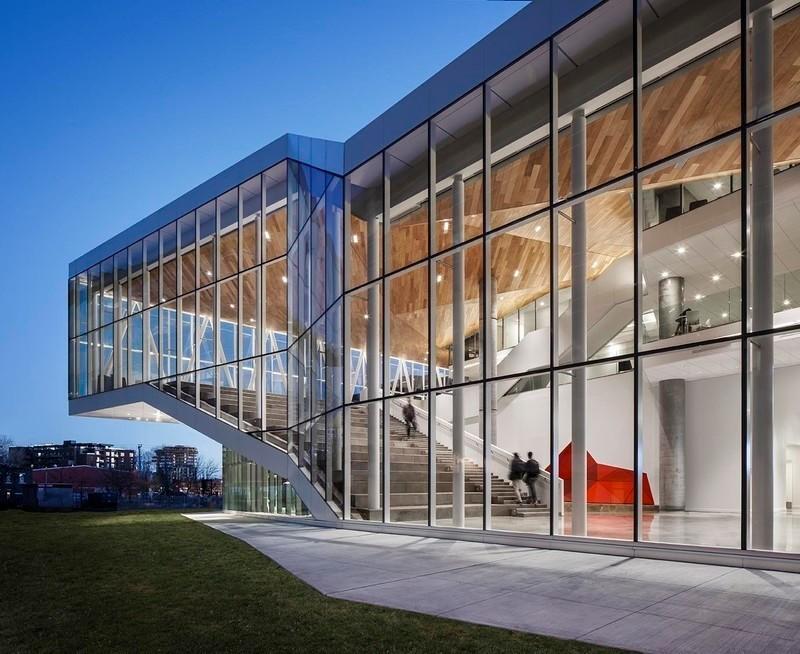 Newsroom | v2com-newswire | Newswire | Architecture | Design | Lifestyle - Press release - The Maison des étudiants de l'École de technologie supérieure (ÉTS) - Menkès Shooner Dagenais LeTourneux Architectes