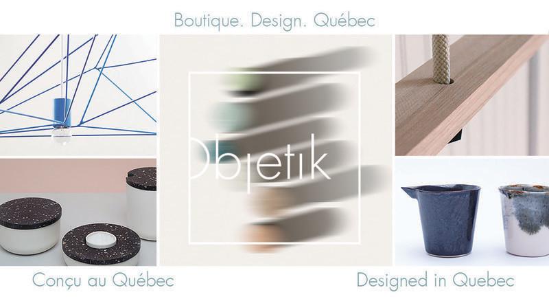 Dossier de presse - Communiqué de presse - Objetik:Boutique. Design. Québec. - Objetik