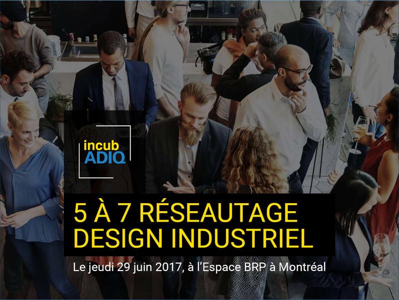 Salle de presse - Communiqué de presse - Cocktail réseautage IncubADIQ - Association des designers industriels du Québec (ADIQ)