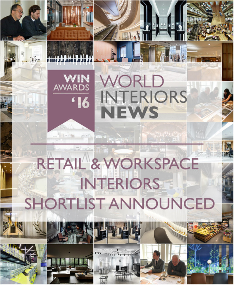 Newsroom | v2com-newswire | Newswire | Architecture | Design | Lifestyle - Press release - WIN Awards - Retail & Workspace Interiors Shortlist Announced - World Interiors News