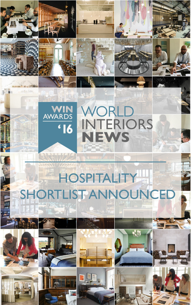 Press kit - Press release - WIN Awards - Hospitality Shortlist Announced - World Interiors News