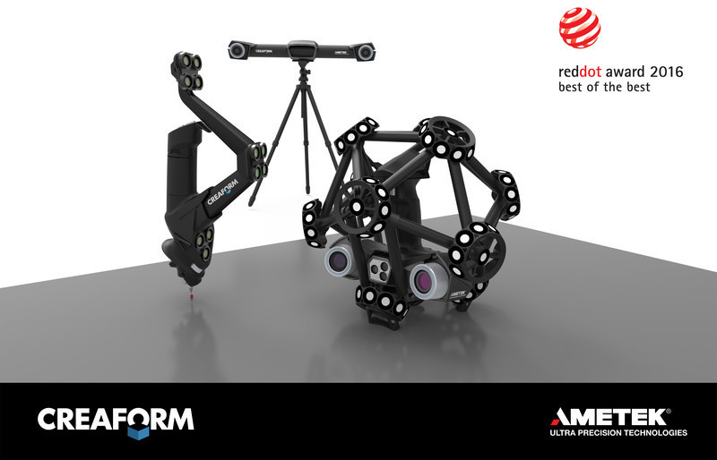 Press kit - Press release - Creaform's new quality control lineup wins renowned Red Dot: Best of the Best! - Creaform