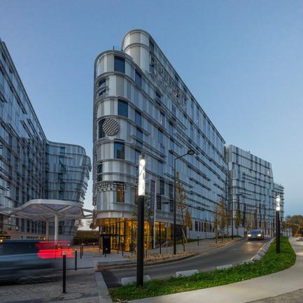 Salle de presse - Communiqué de presse - Hôtels Ibis Styles et Pullman à Roissypôle - Arte Charpentier Architectes