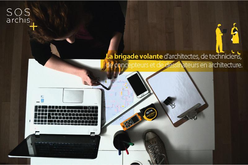Dossier de presse - Communiqué de presse - S.O.S archis: une « brigade volante » d'architectes, de techniciens et de dessinateurs au service des firmes d'architecture québécoises - S.O.S archis