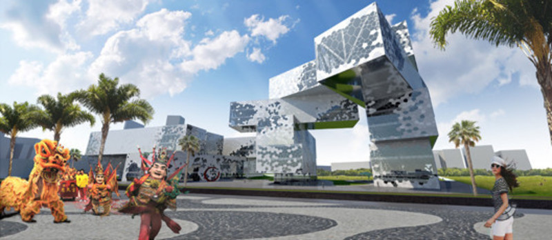 Newsroom - Press release - Taichung City Cultural Center Competition entry - MU Architecture