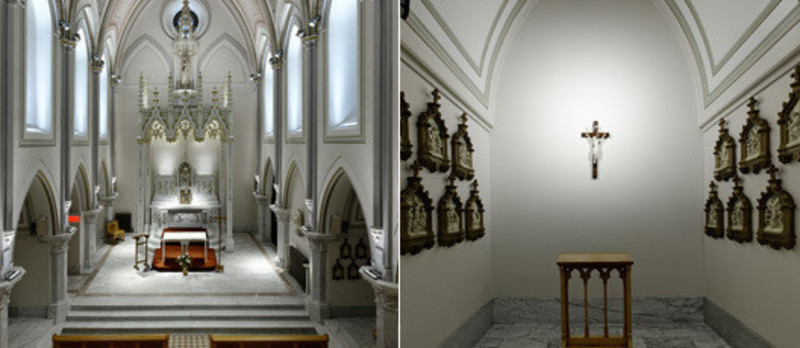 Press kit - Press release - The Carmelite Chapel of Montreal - Éclairage Public