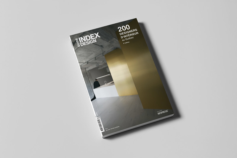 Newsroom - Press release - Index-Design Launches 9th Edition of the Guide – 200 Interior Designers from Quebec - Index-Design