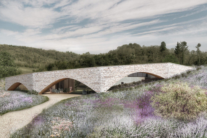 Press kit - Press release - Winery in Chianti - IB Studio _ Arch. Invernizzi & Bonzanigo