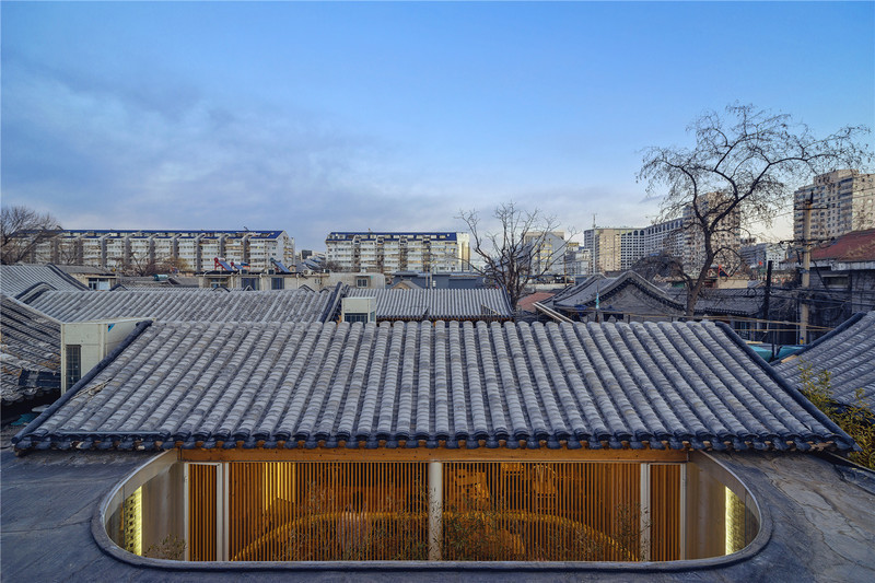 Press kit - Press release - Tea House in Hutong - Arch Studio