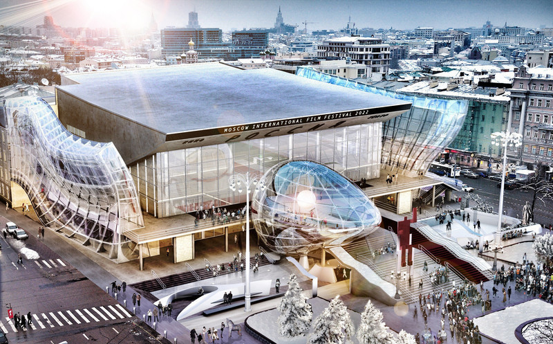 Newsroom | v2com-newswire | Newswire | Architecture | Design | Lifestyle - Press release - Pushkinsky International Cinema Hall at Moscow - Revitalization - MetropolitanmomentuM