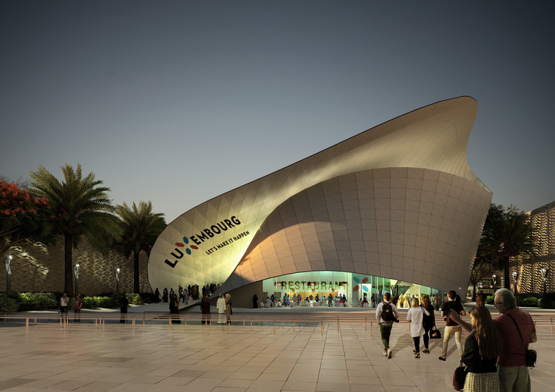Newsroom - Press release - Luxembourg Pavilion at DUBAI EXPO2020 - Metaform architects