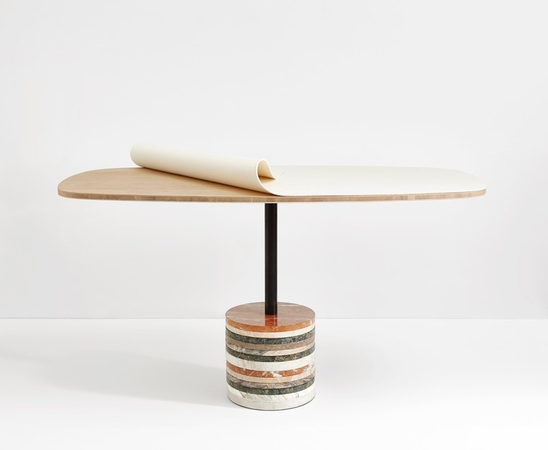 Press kit - Press release - Beauparlant Announces Launch Of Their Stone Base Table - Beauparlant
