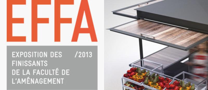 Salle de presse - Communiqué de presse - EFFA 2013 - Exposition des finissants de la Faculté de l'aménagement de l'Université de Montréal - Faculté d'aménagement de l'Université de Montréal