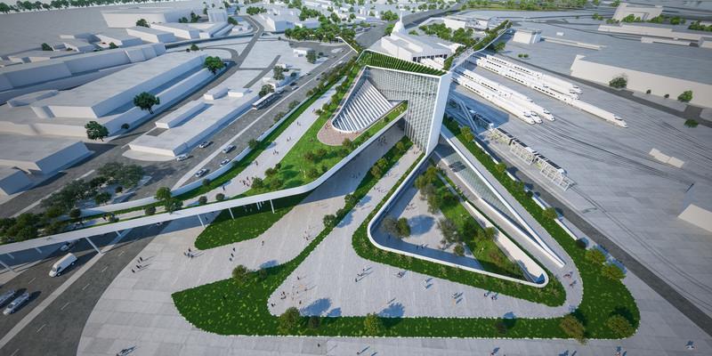 Newsroom | v2com-newswire | Newswire | Architecture | Design | Lifestyle - Press release - Izmir Transportation Hub - Eray Carbajo