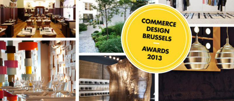 Dossier de presse - Communiqué de presse - Appel à projetsCommerce Design Brussels Award 2013 - Commerce Design Brussels