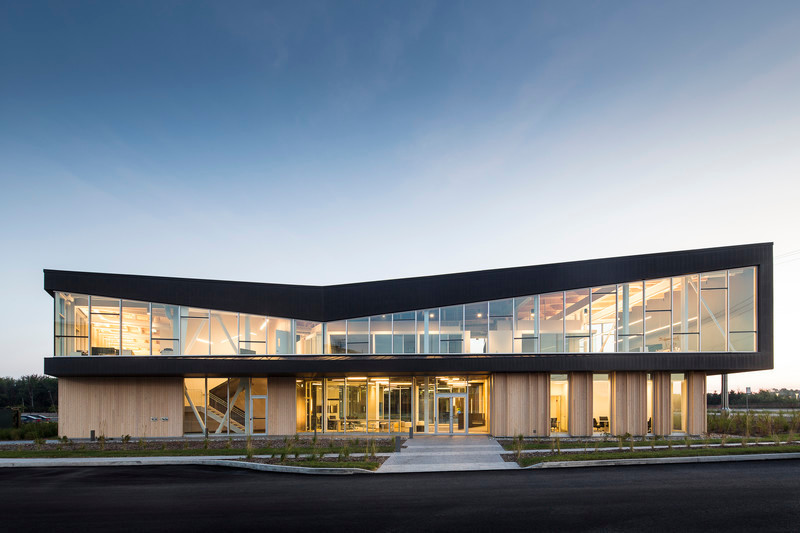 Newsroom | v2com-newswire | Newswire | Architecture | Design | Lifestyle - Press release - Lemay Wins 2017 American Architecture Prize for Design of Pomerleau Offices - Lemay