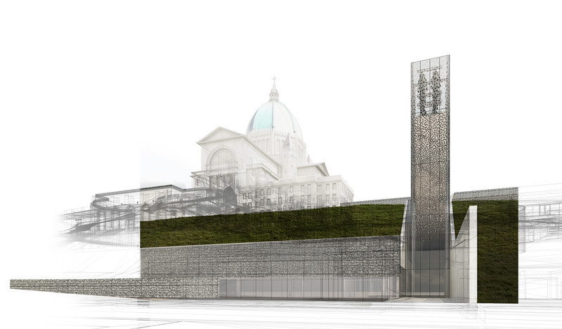 Newsroom | v2com-newswire | Newswire | Architecture | Design | Lifestyle - Press release - Second Major Award Distinguishes Architectural Concept for Saint Joseph's Oratory of Mount Royal - Lemay