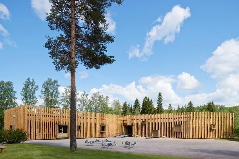 Press kit - Press release - Torsby Finnskogscentrum - Bornstein Lyckefors arkitekter