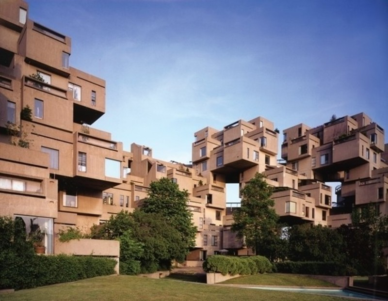 Newsroom | v2com-newswire | Newswire | Architecture | Design | Lifestyle - Press release - Montreal Celebrates the 50th Anniversary of Architect Moshe Safdie's Pioneering Habitat '67 With a New Exhibition at UQAM Centre de Design / June 1 through August 13, 2017 - UQAM Centre de Design