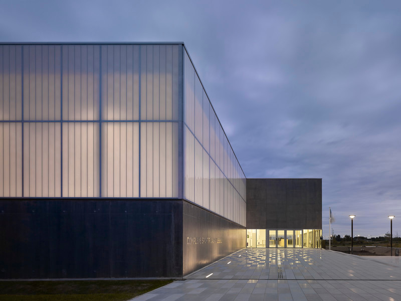 Newsroom | v2com-newswire | Newswire | Architecture | Design | Lifestyle - Press release - Sports Complex in Bussy Saint-Georges - Martin Duplantier Architectes