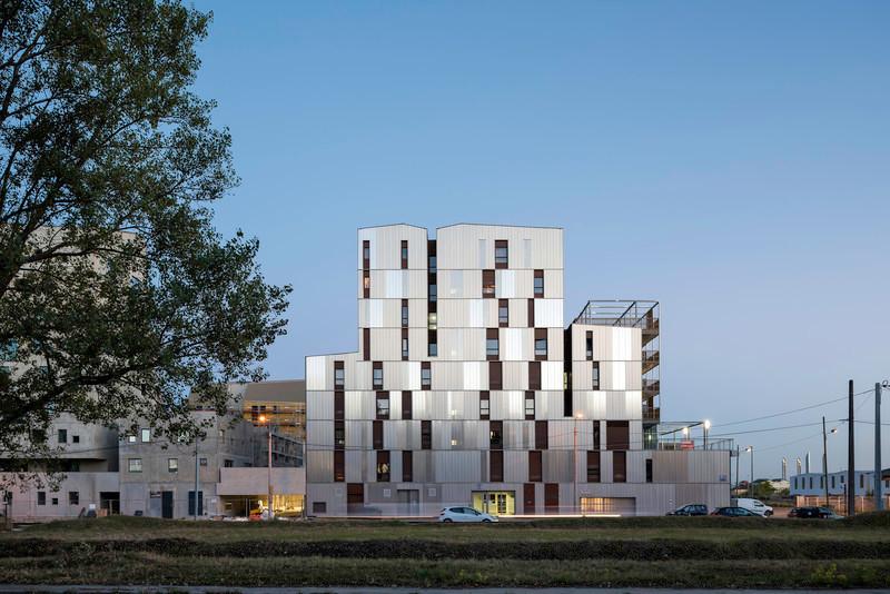 Dossier de presse - Communiqué de presse - Résidence étudiante« les muses » - Gardera-D Architecture