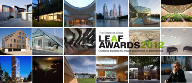Press kit - Press release - Winning projects announced at the 2012 Emirates Glass Leaf Awards - The Emirates Glass LEAF Awards