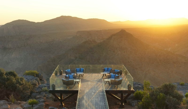 Press kit - Press release - Lotfi Sidirahal from Atelier Pod Designs the Highest Five Star Resort in the Middle East: Anantara Jabal Akhdar - Atelier Pod