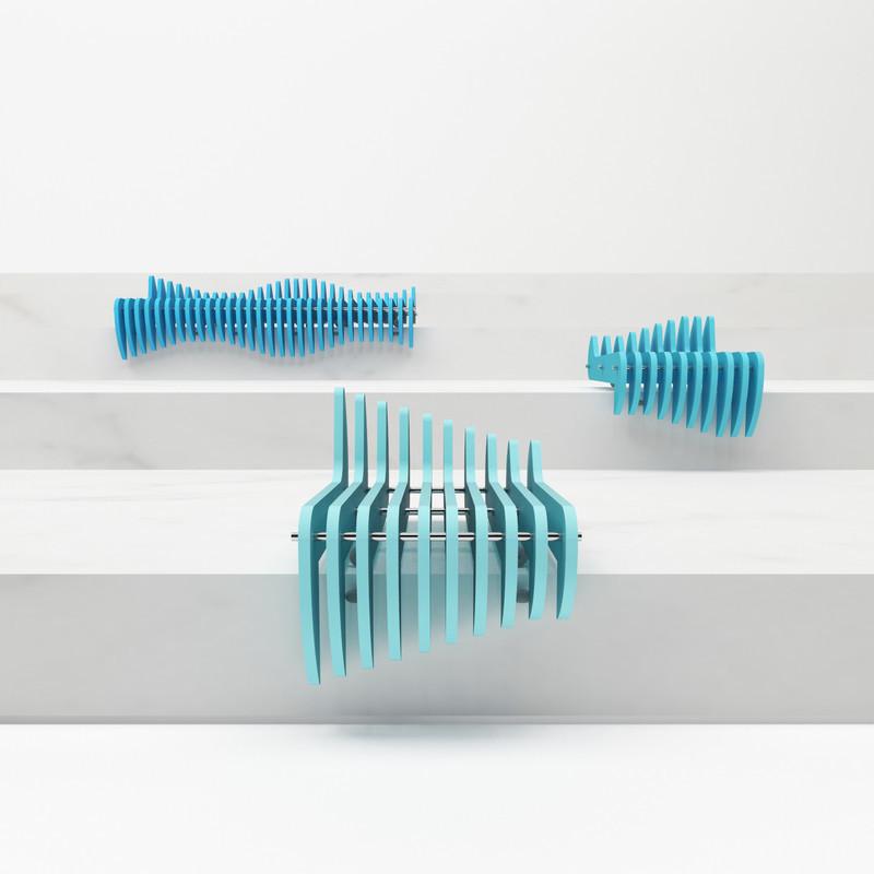 Press kit - Press release - Waves - Tulin + Ayse / Studio-34