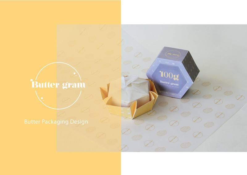Press kit - Press release - Award Winning Product Package Design: Butter gram - Axiom Consulting