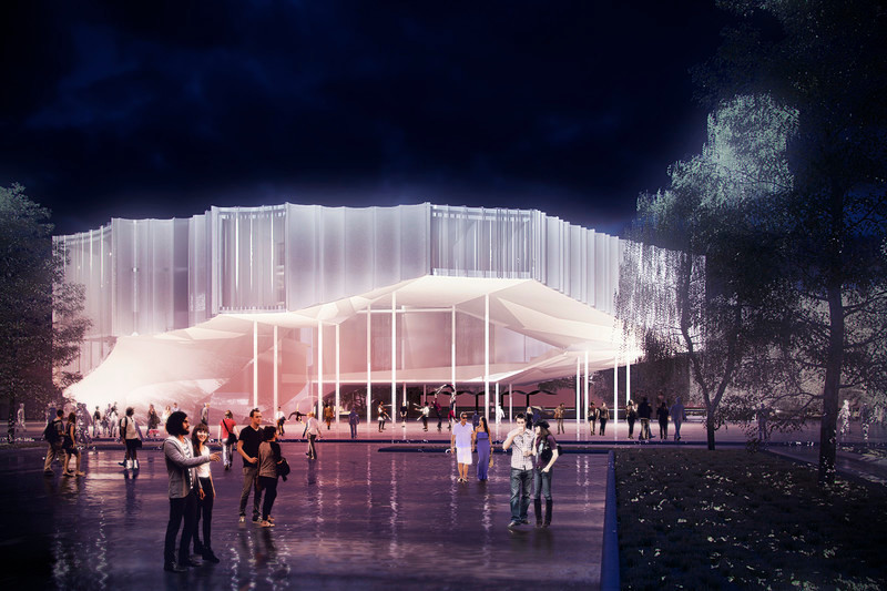 Press kit - Press release - Circus Conservatory - Howeler + Yoon Architecture