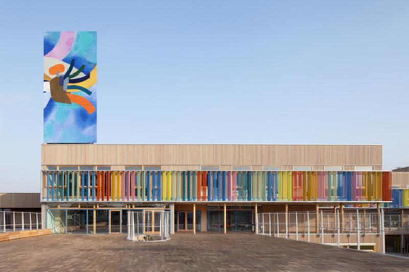 Press kit - Press release - School complex Pasteur - r2k architectes