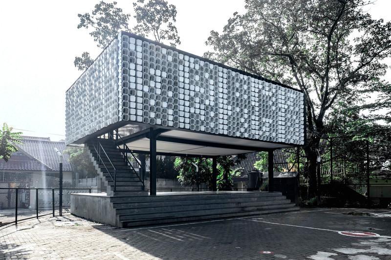 Salle de presse - Communiqué de presse - La micro-librairie Bima : un projet conçu à partir de 2000 contenants de crème glacée - SHAU