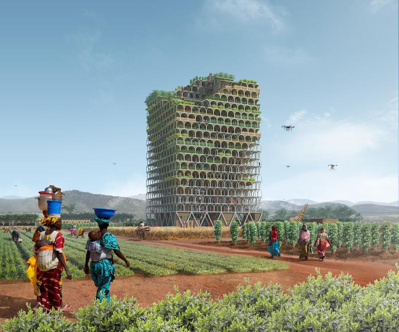 Press kit - Press release - Mashambas Skyscraper - Ggrupa