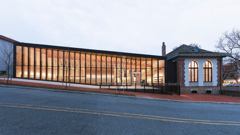 Press kit - Press release - New York Public Library Stapleton Branch - Renovation and Expansion - Andrew Berman Architect