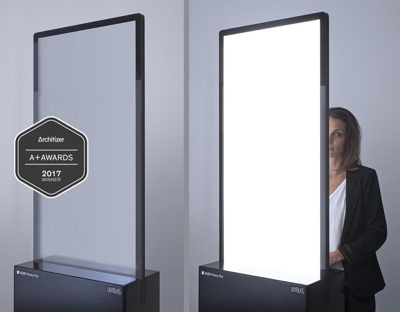 Press kit - Press release - Award-winningALED Privacy-Plus Technology - LightGlass