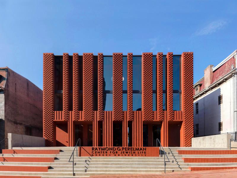 Press kit - Press release - Center for Jewish Life at Drexel University - Stanley Saitowitz | Natoma Architects Inc.