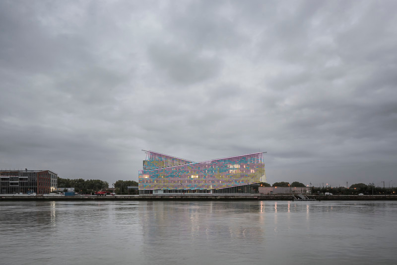"""Press kit - Press release - Headquarters of """"Métropole Rouen Normandie"""" - Jacques Ferrier Architecture"""