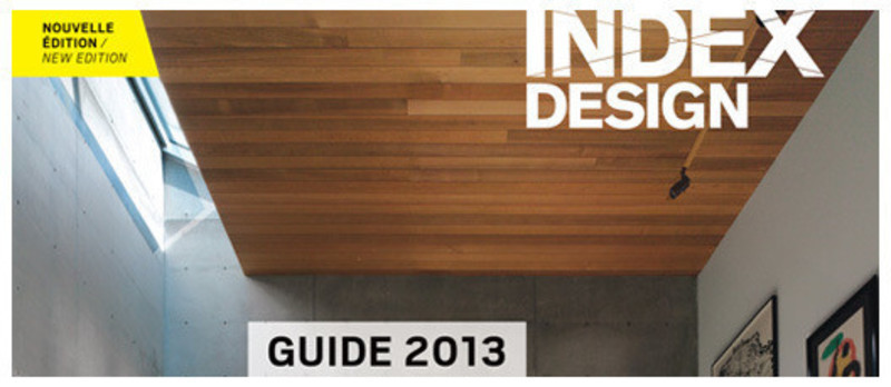Newsroom | v2com-newswire | Newswire | Architecture | Design | Lifestyle - Press release - Index-Design launch the fourth edition of theGuide des designers d'intérieur du Québec - Index-Design