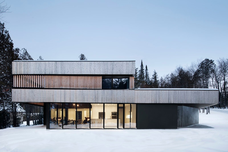 "Newsroom | v2com-newswire | Newswire | Architecture | Design | Lifestyle - Press release - ""Maison sur le Lac"" - ACDF Architecture"