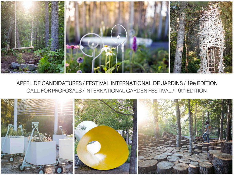 Newsroom - Press release - Call for Proposals - 19th International Garden Festival at the Reford Gardens - International Garden Festival / Reford Gardens
