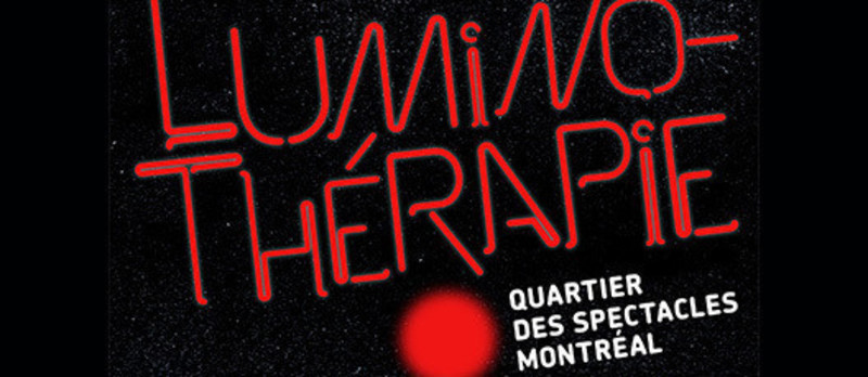 Newsroom - Press release - Luminothérapie competition : for the development and animation of public space in the Quartier des spectacles - Bureau du design - Ville de Montréal