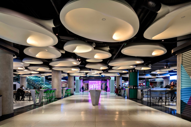 Newsroom | v2com-newswire | Newswire | Architecture | Design | Lifestyle - Press release - Lightemotion Contributes to the new Union Station Food Court Lighting Atmosphere - Lightemotion