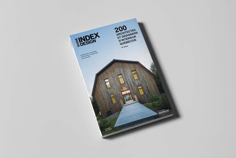 Newsroom - Press release - Index-Design Launches New Edition of the Guide 200 Architects and Interior Designers from Quebec - Index-Design