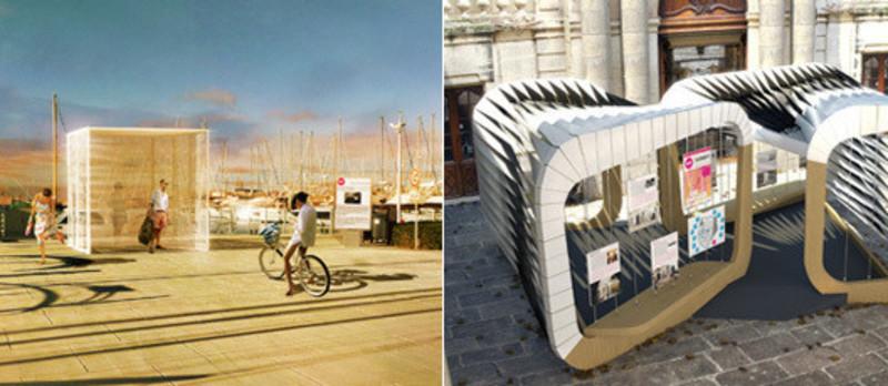 Dossier de presse - Communiqué de presse - Présentation des pavillons 2014 - Association Champ Libre - Festival des Architectures Vives (FAV)