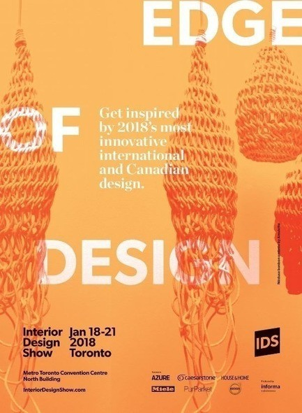 Press kit - Press release - 2018 Design Trends Come Alive at IDS18 - Interior Design Show (IDS)